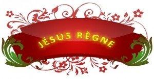 Jésus règne